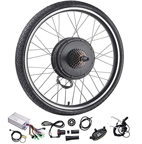 GXGR 36V Kit de Conversion de vélo électrique, 20',24',26',27.5,28',29',700C Pouces Roue arrière...