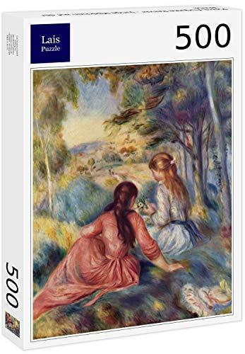 Lais Puzzle Pierre-Auguste Renoir - Giovane Ragazza nel Prato 500 Pezzi