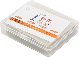 comprar comparacion Papel de Turrón - Hojas de Envoltura de Caramelo de Papel de Oblea de Arroz Comestible 500 Piezas