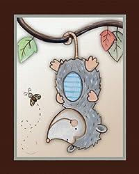 Opossum Nursery Art Print