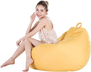 Wonderful thoughts Beanbag beanbag casual living room sofa fabric beanbag single tatami Hotel Yellow 75