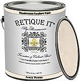 Retique It Chalk Furniture Paint by Renaissance DIY, Gallon, 128 Fl Oz