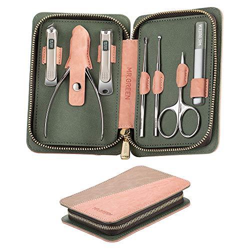 Kit de manicura de Mr. Green con herramientas profesionales