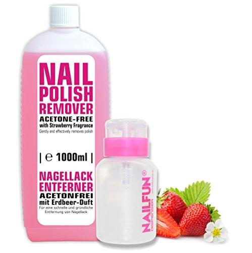 NAILFUN  1000ml ACETONFREI   praktische Pumpflasche Bild