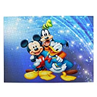 ドナルドダックとミッキーマウスが遊んでいます3 ジグソーパズル 500ピース おしゃれ かわいい インテリア 52.2x38.5cm