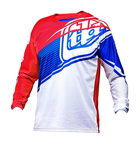 Troy Lee Designs Sprint Jersey–GWIN rot/weiß/blau Größe L Gwin Red/White/Blue