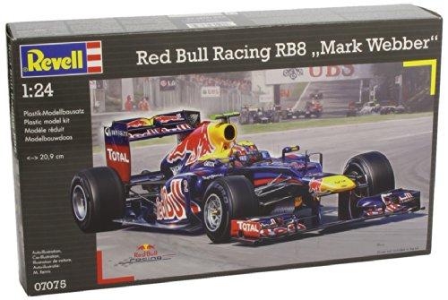 Revell 07075 - Modellbausatz - Red Bull Racing RB8, Webber, Maßstab 1:24