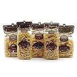 Everydaypack Pasta Gragnano-Pennoni,Penne Lisce,Tubettoni,Elicoidali,Caserecce 500grx5