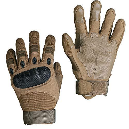 Smarcy Guantes Tácticos Militares para Hombres Dedo Completa para Airsoft Paintball del...