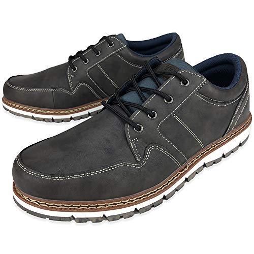[リベルトエドウィン] ブーツ ワークブーツ スニーカー レイン スノー 防水 防滑 おしゃれ (25.5cm, グレー)