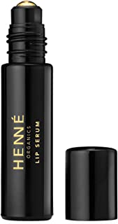 Henné Organics Lip Serum - Argan Oil Antioxidant Collagen Boost Treatment for Lips