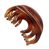 LONEEDY Haarklammer/Haar-Clip mit rutschfestem Griff, Kunststoff, für Damen