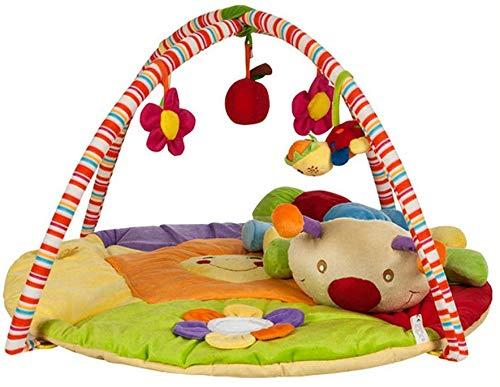 SCLL Arc de Jeu pour bébés Tapis de Jeu avec hochets Suspendus et Jouets musicaux pour l'éducation de la Petite enfance des garçons et des Filles, Stable