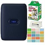 Fujifilm Instax Mini Link Smartphone Printer Plus Fujifilm Instax Mini Films 20 Pack....