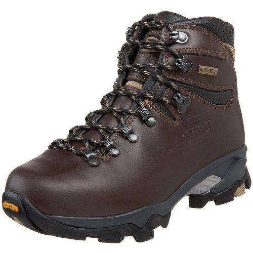 Zamberlan Women's 996 Vioz GT Hiking Boot,Dark Brown,37 M EU/6 M US