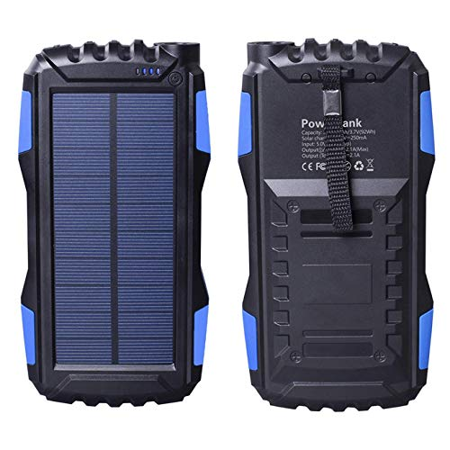 Friengood 25000mAh Portable Solar Power Bank