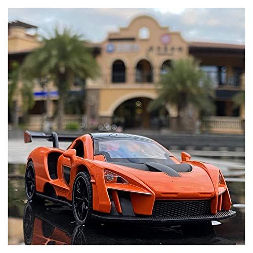 GYXY Utilizado para McLaren 1:32 Aleación De Las Luces De Sonido Fundidas De La Aleación Pull Back Sports Car Modelo Juguete Churd's Boy T-oy Cumpleaños Decoración DE Adultos