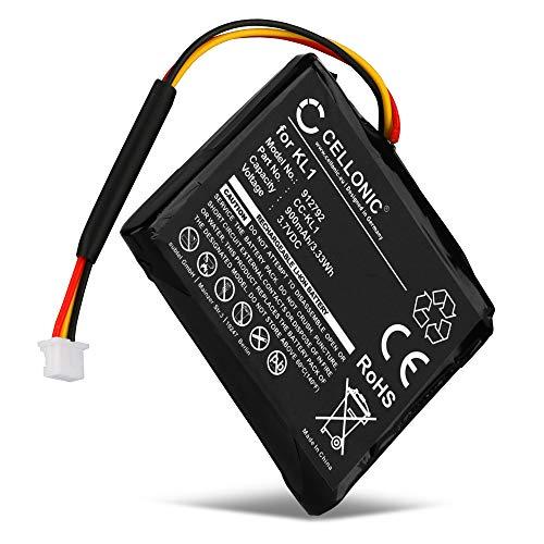 CELLONIC® GPS Ersatz Akku 6027A0114501,KL1 kompatibel mit Tomtom VIA 1405 1405M 1405T, VIA 1435 1435TM, VIA 1505 1505M 1505T, VIA 1535 Navigationsgerät Ersatzakku 900mAh Batterie