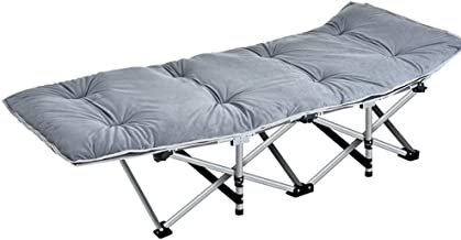 Mei Xu Folding Bed - Reinforced Folding Bed Office Folding Bed Single Bed Lunch Bed Recliner Simple accompanying Camp Bed ...