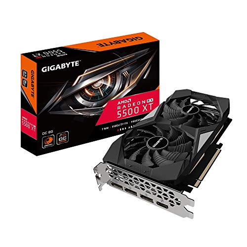 GIGABYTE Radeon RX 5500 XT OC 8G, GV-R55XTOC-8GD