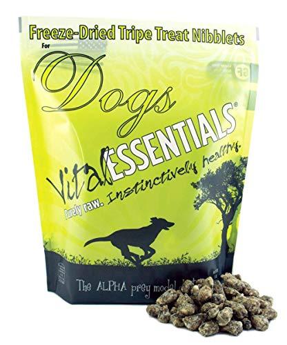 Vital Essentials Freeze-Dried Grain-Free Beef Tripe Nibblets Dog Treats, 1 lb.