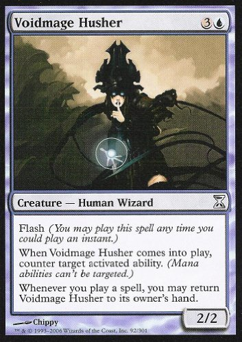 Magic The Gathering - Voidmage Husher - Time Spiral