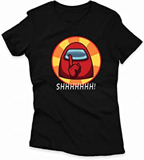 Among Us Unisex Round Neck T-shirt for Kids