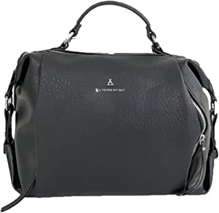 pash bag Borsa by l atelier du sac miller black mirror