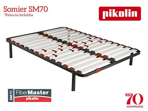 PIKOLIN Somier SM70 Laminas de Fibra de Carbono 90 x 190cm