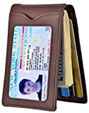 Best Front Pocket Wallets For Men - Slim Wallet with Money Clip RFID Blocking Minimalist Review