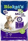 Gimborn 615660 Katzen Streu Biokat Micro Fresh