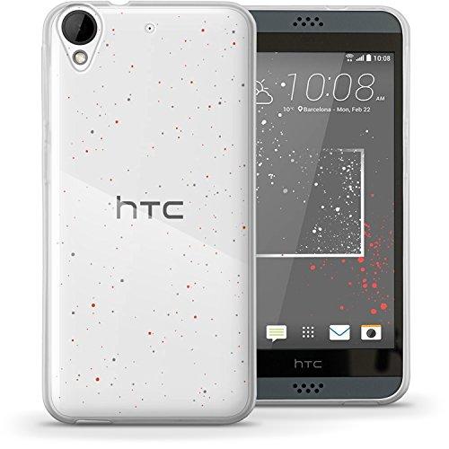 iGadgitz u4782Handy TPU für HTC Desire 530Cover mit Bildschirmschutzfolie–Transparent