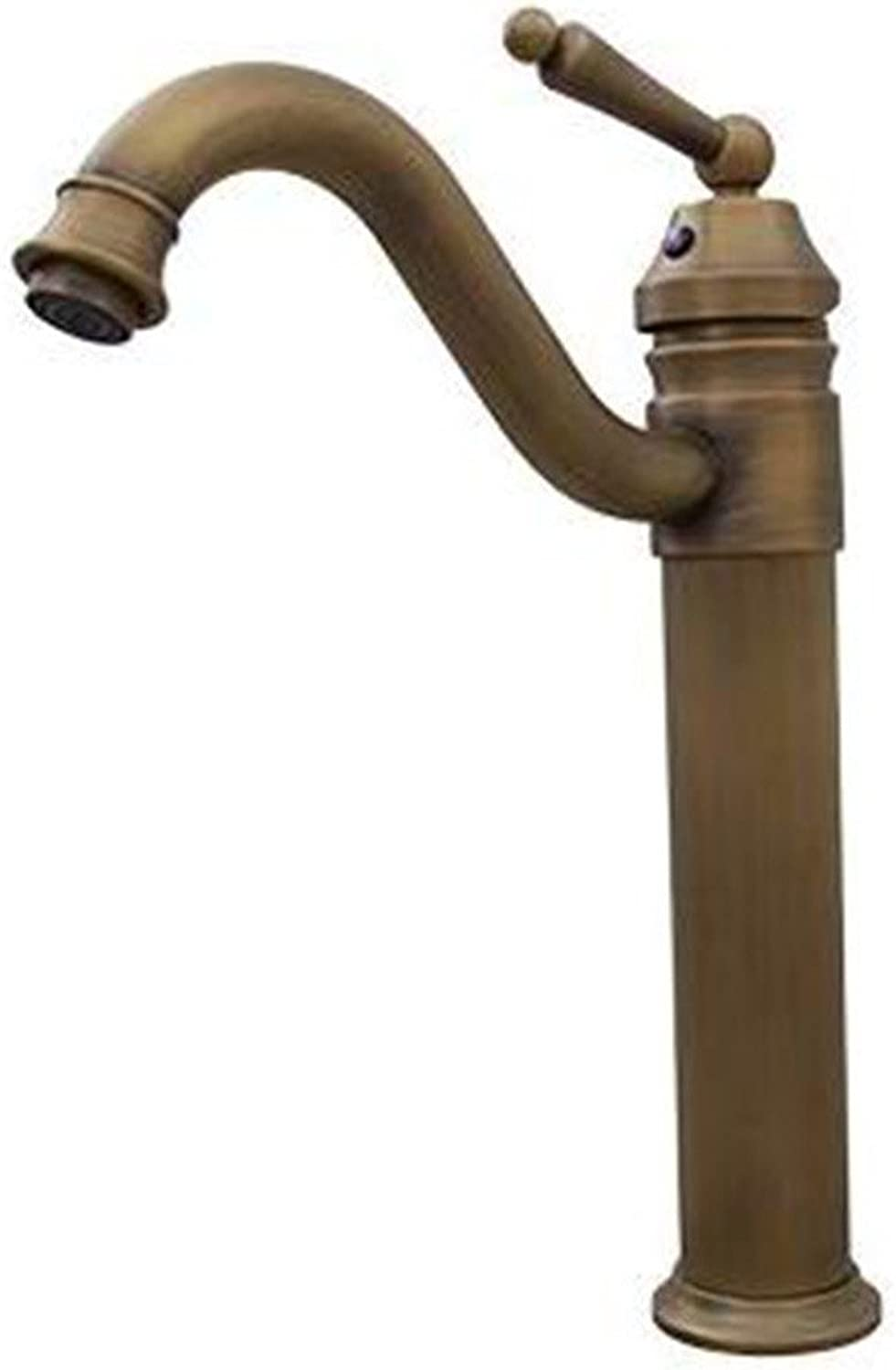 LHbox Basin Mixer Tap Bathroom Sink Faucet Euro-copper antique and cold water basin surface basin mixer