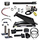 6 Ton (12,000 lb) Dump Trailer Hydraulic Scissor Hoist Standard Kit- Power Hoist 416...