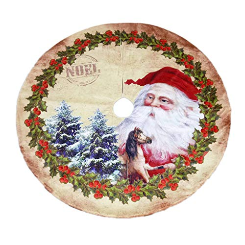 JERKKY Kerst Ornamenten 1 Stuk Kerstman Ontwerp Boom Rok Traditionele Thema Helpt Bevat Naald en Sap Mess op Vloer 47