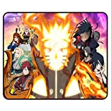 Anime Mouse Pad - Japanese Anime Gaming Office Cool Anime Mousepad Rubber 1 Pcs for Kids Boys Teens(11.8 9.8 0.12 inch)