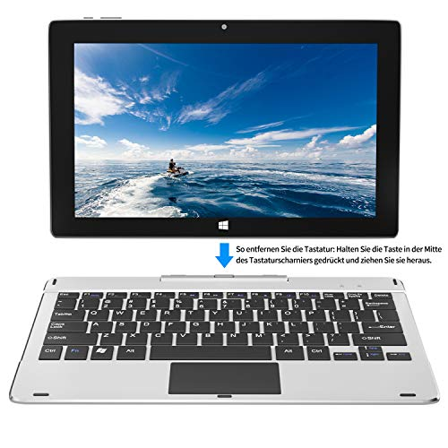 Jumper Ezpad 6pro 11,6 Zoll 6GB RAM 64GB Speicher Intel Quad Core Laptop 2 in 1 Touchscreen Tablet Windows10 Laptop.