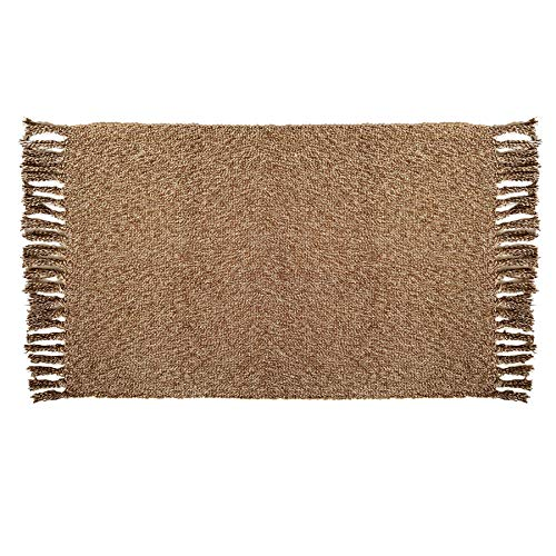 Reversible Cotton Area Rugs | Aceent Floor Rugs for Living Room, Bathroom Rug, Kitchen Laundry Rug | Machine Washable, 23.6