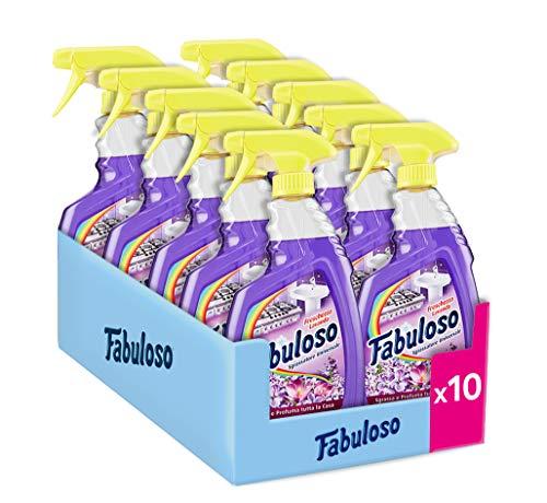 Fabuloso Spray Universale Lavanda - Pacco da 10 x 600 ml - Totale: 6000 ml
