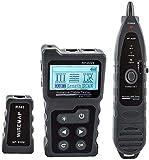 GXT Detector de Tester de Cable Detector Tracker Finder Checker NF-8209 Modo de PoE analógico Digital RJ45 con Flashlight Tester multifunción Herramienta