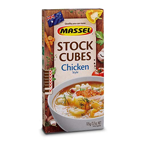 Massel, Ultracube Stock Cubes - Gluten-Free, Chicken Style Broth - 105g, Pack of 12, Soup Stock
