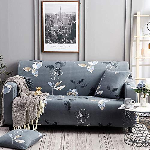 HXTSWGS Housse de Canapé d'angle,Living Room Sofa Cover 1 2 3 4 Seat Cover, Stretch Fabric Sofa Protection Cover, Sofa Seat cover-Color29_190-230cm