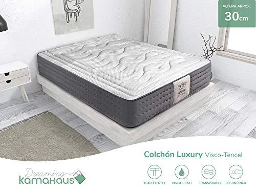 Colchón Luxury Visco-Tencel | 150x190 | Altura: ±30cm