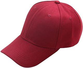Fablcrew Unisex Bambino Cappellino da Baseball Cappello Classico da Baseball a Strisce per Bambini Size 48-52cm Blu