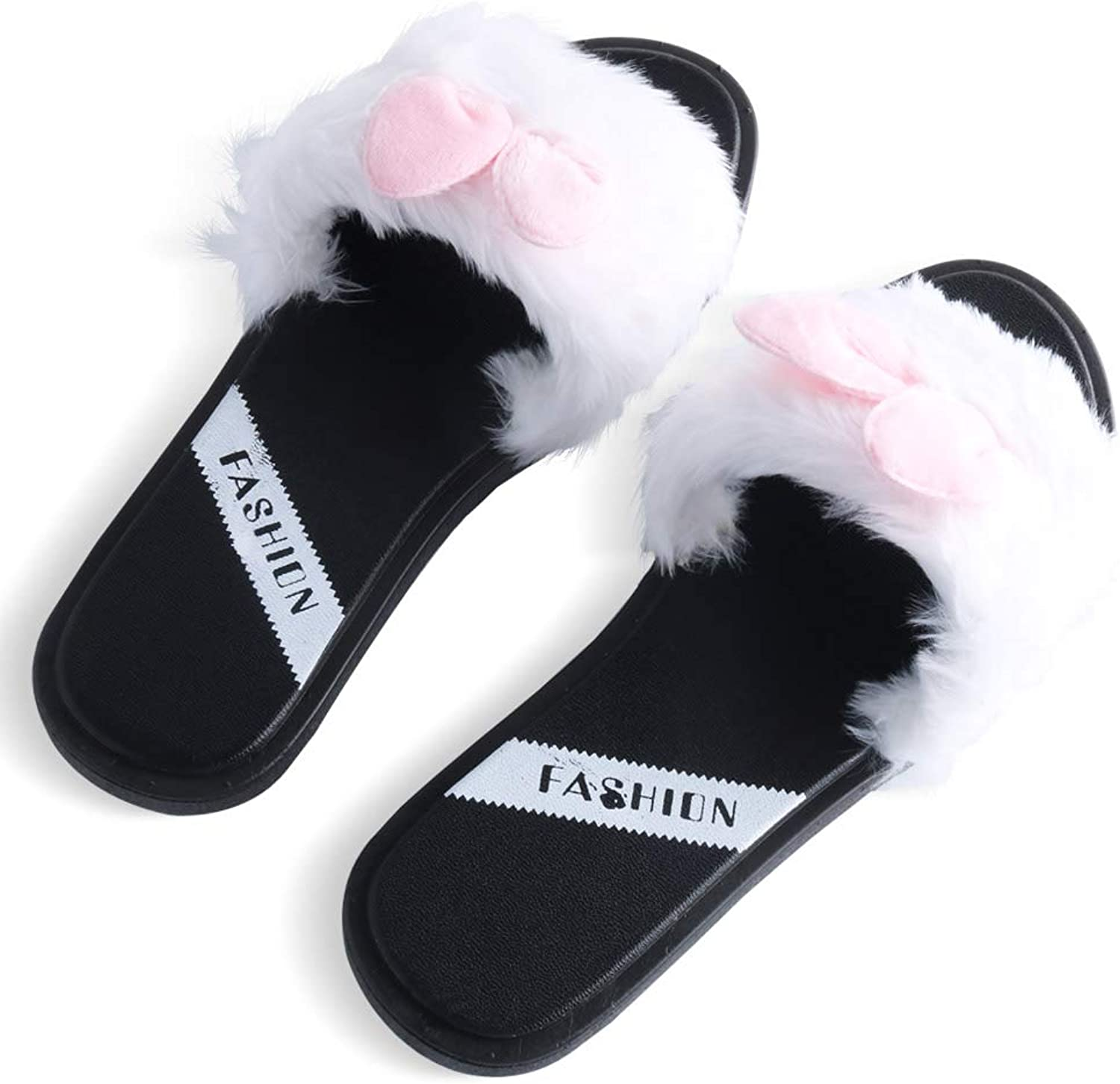 Erpai Women Slippers Summer Indoor Home Outdoor Fashion Anti-Slip shoes Black