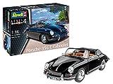 Revell 07043Kit DE 12Modélisme Porsche 356Cabriolet l'échelle 1: 16, Niveau 4