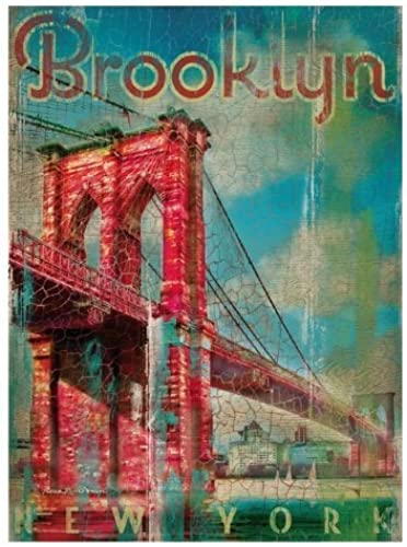 Creative Toy Company Wood Brooklyn 500 Piece Puzzle by Clementoni