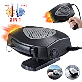 【2020 NEW】 Portable Car Heater 12V 150W, Fast Heating Space Defrost Defogger Automobile...