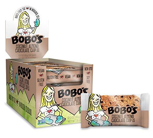 Bobos Oat Bars Coconut Almond Chocolate Chip