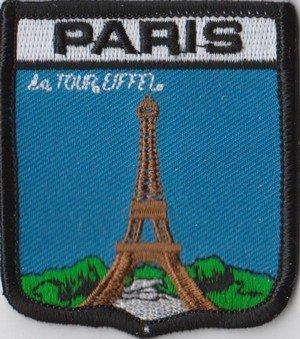 Paris Frankreich Flagge Patch Aufnäher Abzeichen